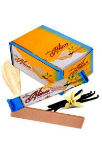Vanila glaze wafers ALINA 50g/24Pcs./display/6display/Box
