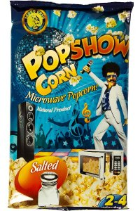 Microwave Popcorn SALT 80g/25pcs./Box