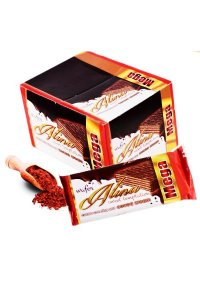 Alina Cocoa Wafers GLAZED 60g/24Pcs/display/6display/Box