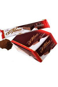 Alina Cocoa Wafers GLAZED 50g/24Pcs/display/6display/Box