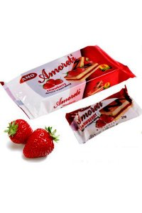 Mini Cake strawberry  200g,15pcs./box