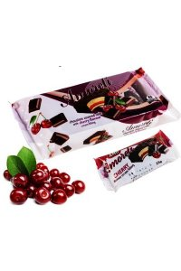 Mini Cake cherries glazed 200g,15pcs./box