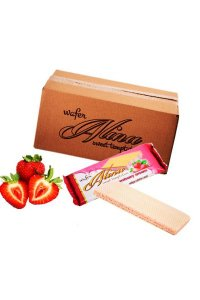 Alina Cocoa Wafers GLAZED 30g/48Pcs/Box