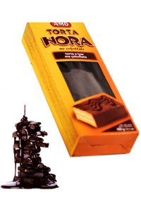 Top cake Nora cocoa 400g,12pcs./box