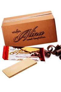 Alina Cocoa Wafers 30g/48Pcs./Box