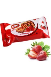 Minirolls strawberries 60g,24pcs./box
