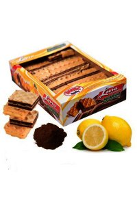 Livia waffers  cocoa cream and lemon,2Kg