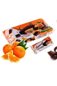 Mini Cake orange glazed 200g,15pcs./box